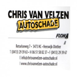 Chris van Velzen autoschade